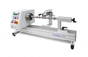 CamScan 100 detecting grinding burn on a camshaft