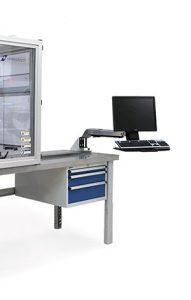 xstress keyboard and monitor mount