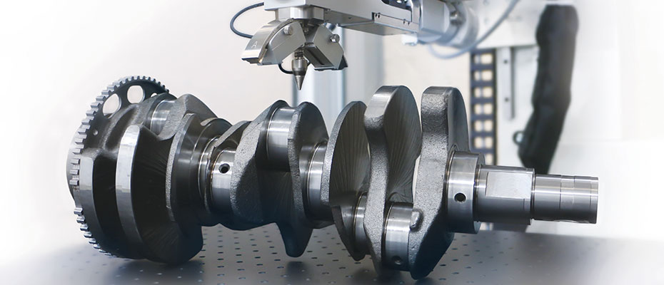 xstress G3 measuring crankshaft with x-ray diffraction
