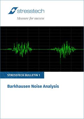barkhausen noise analysis pdf cover