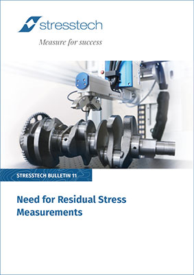 need for residual stress measurements pdf