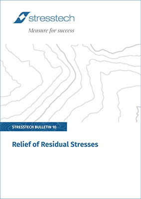relief of residual stresses pdf cover